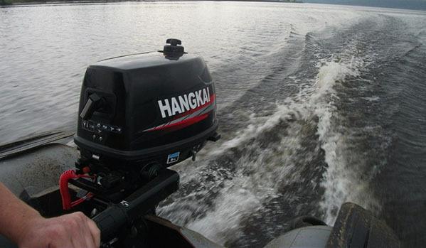 купить лодочный мотор ханкай 6 л.с видео