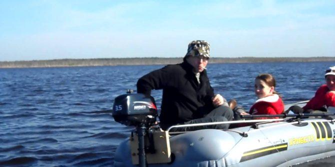 как правильно обкатать лодочный мотор hidea