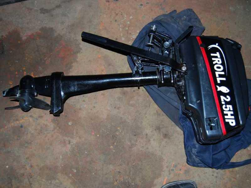 Мотор тролл 2.5 схема